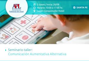 APL, Seminario Taller_ Comunicación Aumentativa Alternativa