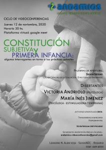 Constitución subjetiva y primera infancia