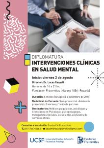 AFICHE - Intervenciones clinicas en salud mental