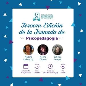 Tercera Edición de la Jornada de Psicopedagogía