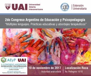 flyer II Congreso CAEyP