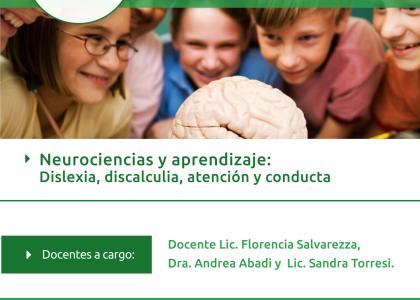 Neurociencias y Aprendizaje dislexia, discalculia, atención y comportamiento
