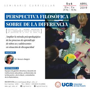 Seminario Belgich perspectiva-filosofica