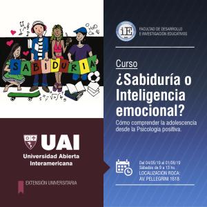 Flyer - Sabiduría e Inteligencia Emocional
